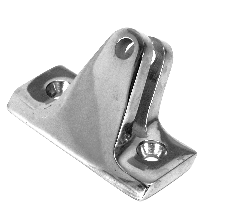 Deck Hinge S.S. Angle Base 40 Degrees