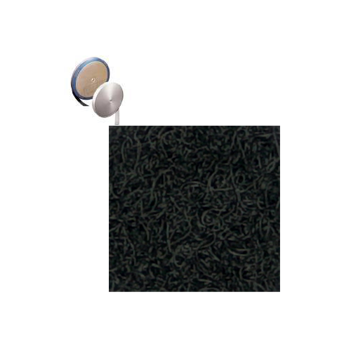 Loop - Sew-In - black 50/yd rolls (Hook and Loop Sew Quality)