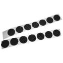 Loop Coins - Rubber Based PSA - black 25/yd rolls