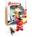 Easy Operation Vehicle Flying RC Spaceman - Red