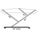 Our boat top frame kits are universal and ready to assemble in kit form, simply cut to size. Our Bimini top hardware is available with either nylon boat top hardware or die cast hardware. Bimini 3-Bow Boat Top Frame Kit .