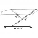 BTK - Extra Large Standard 2-Bow Boat Top Frame Kit