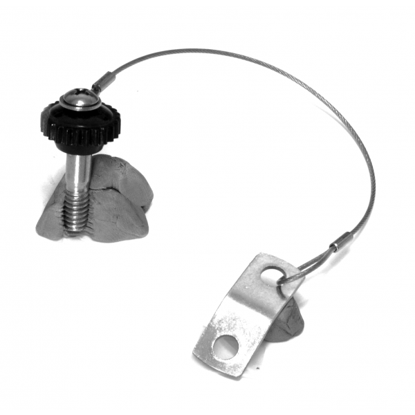 small nylon knob with ss screw swivel 6 cable save at d d threads plus. Black Bedroom Furniture Sets. Home Design Ideas