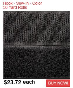 Hook - Sew-In - color 50/yd rolls Sale
