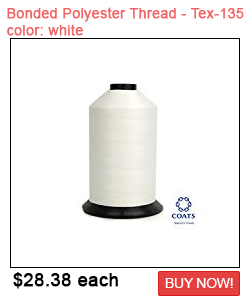 White Bonded Polyester Thread Sale