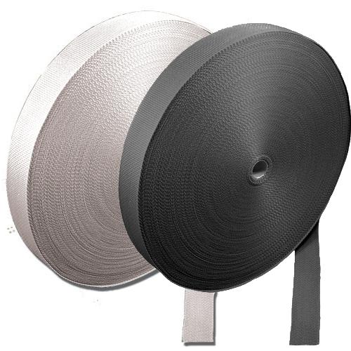 """Buy 1"""" Heavyweight Polypropylene Webbing – 100 YD. Rolls at Bulk Pricing"""