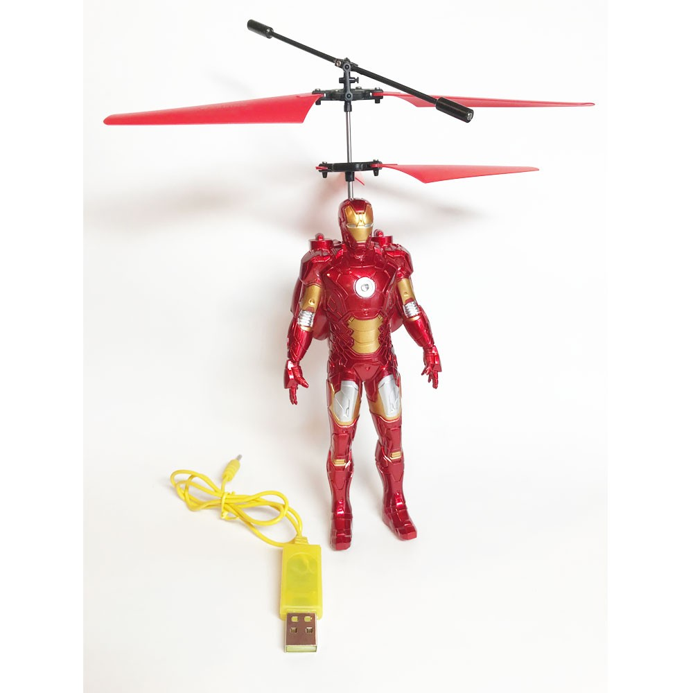 Action Figure RC Aircraft - No additional batteries needed! It is like a toy helicopter you control with hands or feet.