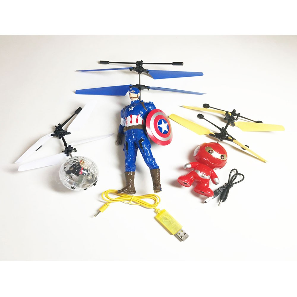 Captain America Flying Drone