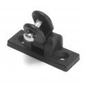 Deck Hinge - 180 Degree Universal Black