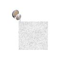 Loop - Sew-In - white 50/yd rolls