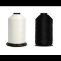 Bonded Nylon Thread - Size #138 - TEX-135 - Colors: Black and White