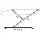 BTK - Standard 2 Bow Frame - Boat Top Frame Kit