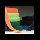 Hook & Loop - Rubber Based Pressure Sensitive Adhesive - colors 50/yd rolls