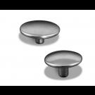 Caps - Nickel Plated Brass Premium Snap Fasteners (Fasteners)