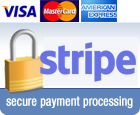 Secure Payment Processing by Stripe